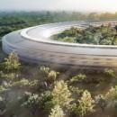 Video: Nog meer drone beelden van Apple's Spaceship campus