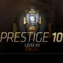 Twee personen hebben prestige 10 in Call of Duty: Modern Warfare 3