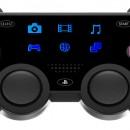 Mock-up geeft de PS4-controller een display
