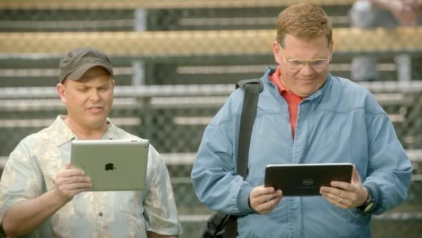 img 51dc8cae078a9 Microsoft spot weer met de iPad in een nieuwe commercial