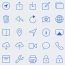 Glyphish iOS 7 icoontjes voor ontwikkelaars vanaf nu verkrijgbaar