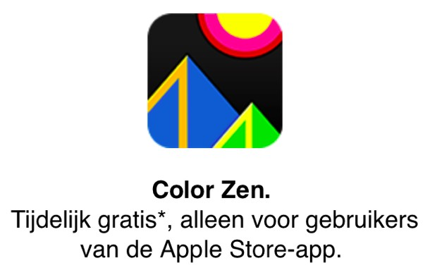 img 51fbb1b203c12 Apple biedt Color Zen gratis aan via de Apple Store app