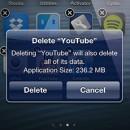 Uninstall Application Size vertelt hoeveel ruimte je vrij maakt bij het verwijderen van een app (jailbreak)