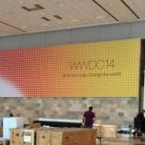 Foto's: Eerste banners al opgehangen voor WWDC 2014