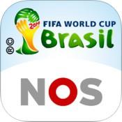 FIFA WK 2014 app gelanceerd door de NOS voor de iPhone en iPad