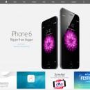 Apple website is voorzien van een nieuw design