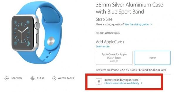 img 5580e8b5a9122 Apple begint met verkoop Apple Watch in fysieke winkels