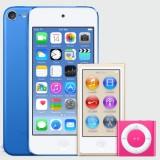 iTunes 12.2 verwijst naar nieuwe kleuren iPod nano, iPod touch en iPod Shuffle