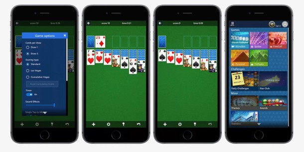 img 583b705522d6d Microsoft brengt bekende PC game Solitaire naar de iPhone en iPad