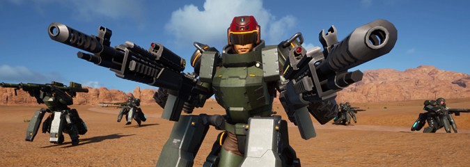 Review: Earth Defense Force: Iron Rain