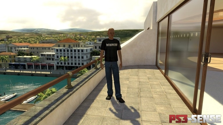 inFAMOUS PlayStation Home T-Shirt