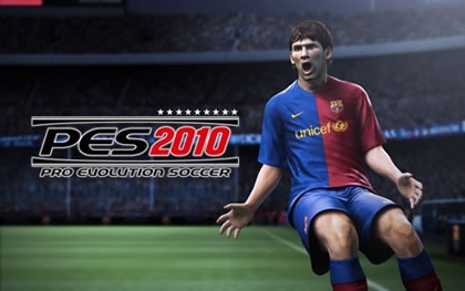 Messi in PES 2010