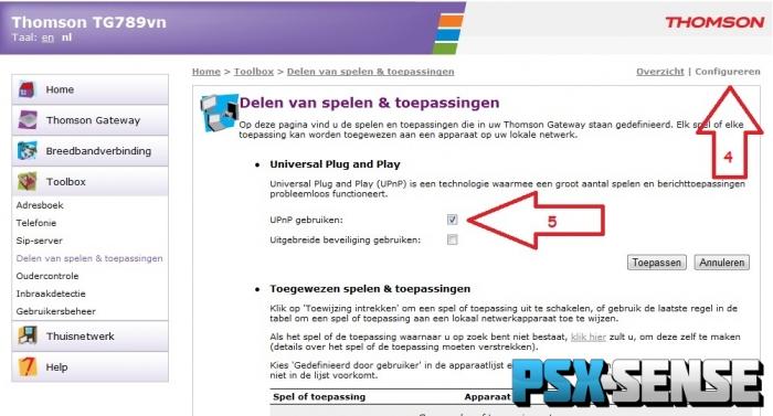 Ps3 Nat 2 Type Instellen Met De Kpn Experia Box Thomson