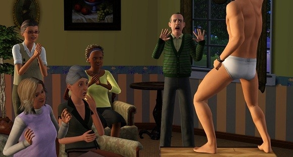 Sims 3 'The Hangover' parodie trailer