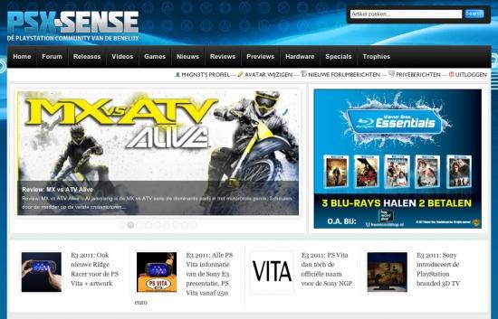 PS Vita ondersteuning op PSX-Sense - PSX-Sense