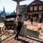 Zogenaamd Red Dead Redemption 2 screenshot cirkelt rond op het internet