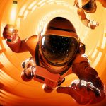 17 minuten wegzweven in gameplay video Downward Spiral: Horus Station