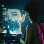 De stad van Cyberpunk 2077 te zien in off-screen footage
