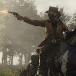 Red Dead Redemption 2 trailer is gecaptured op een PS4 Pro