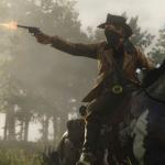 Red Dead Redemption 2 trailer is gecaptured op een PS4 Pro