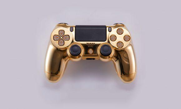 DualShock 4 controller van goud met diamanten moet $13.995,- opbrengen