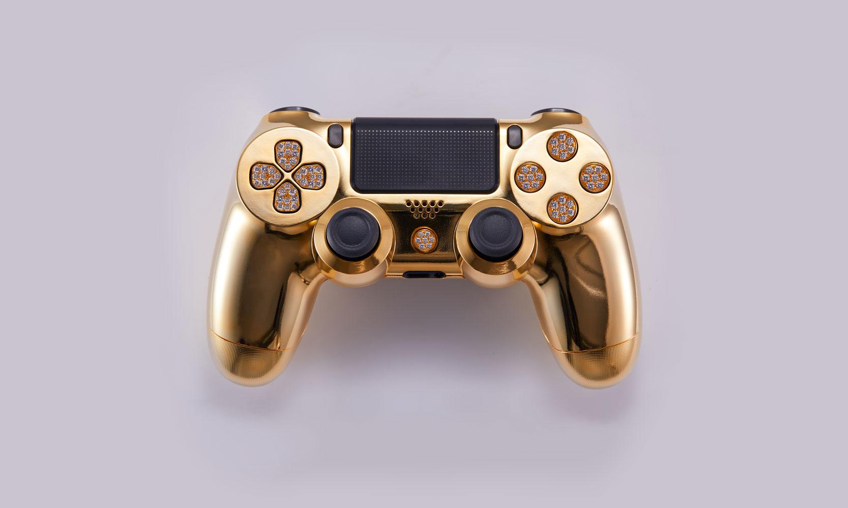 Geld over? Gouden PS4 controller met diamanten te koop voor €12.000