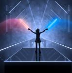 Uitdagende ritme game in VR 'Beat Saber' komt deze maand nog uit