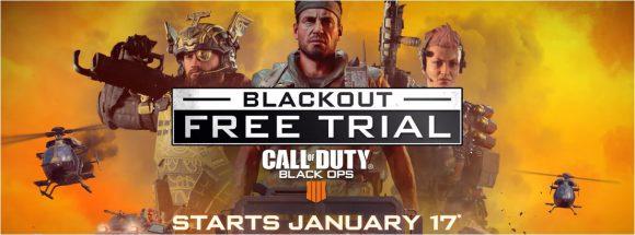Speel de Blackout Battle Royale modus van Call of Duty: Black Ops 4 morgen gratis via een trial