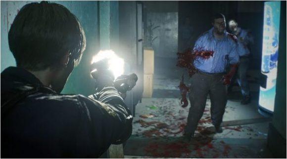 Het verhaal van Resident Evil 2 duurt ongeveer 10 uur