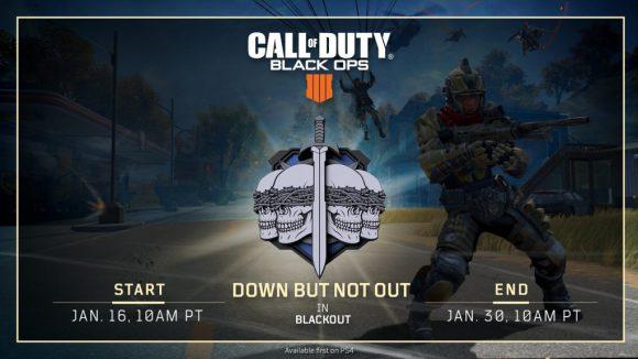 Blackout in Call of Duty: Black Ops 4 voorzien van nieuwe tijdelijke modus
