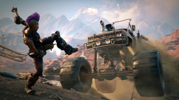 RAGE 2 draait op 1080p/60fps op de PS4 Pro en Xbox One X