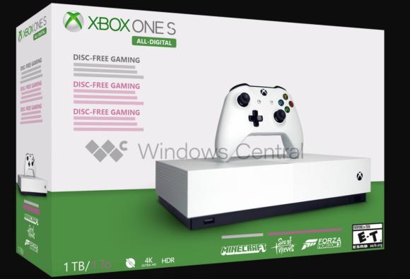 Fysieke games minder populair, Microsoft komt mogelijk met een Xbox One zonder disc-drive
