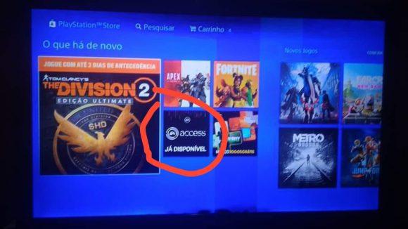 EA Access mogelijk gelekt via het Braziliaanse PlayStation Network