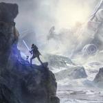 Eerste beeld van Respawn's Star Wars singleplayer game Jedi: Fallen Order