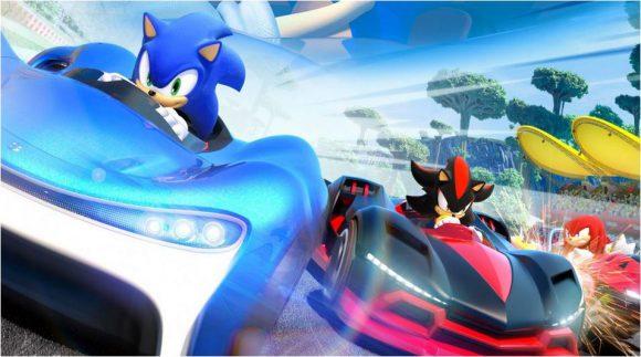 Team Sonic Racing trailer toont de verschillende soorten karts