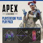 Apex Legends spelers ontvangen een gratis PlayStation Plus pack