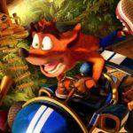 Tawna Bandicoot laat zich zien op nieuwe track in Crash Team Racing: Nitro-Fueled gameplay