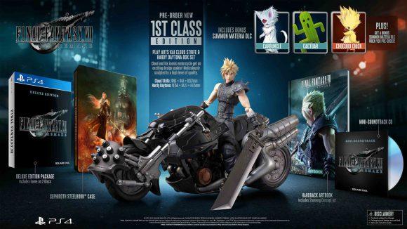 Final Fantasy VII Remake krijgt een 1st Class Edition van €299,99