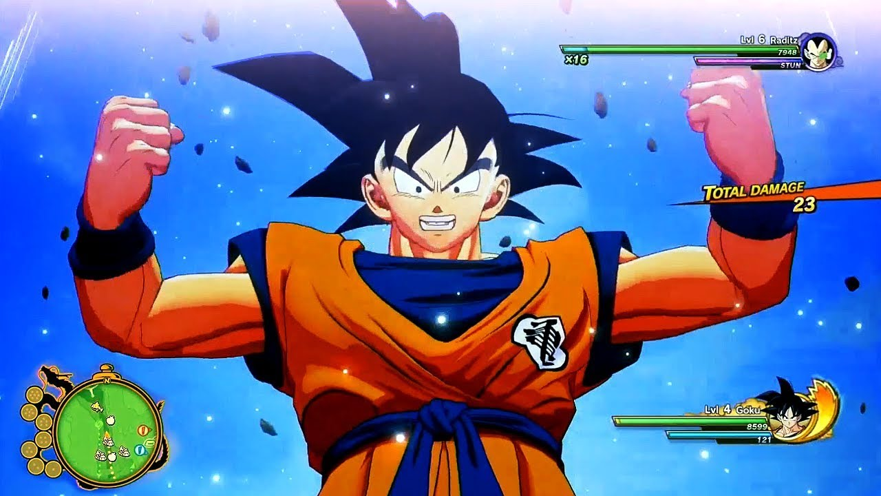 12 minuten Dragon Ball Z: Kakarot 'Open World' gameplay