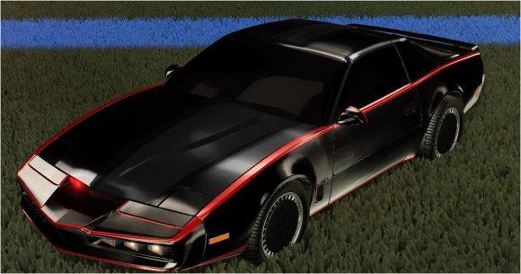 Race nu met K.I.T.T. uit Knight Rider in Rocket League