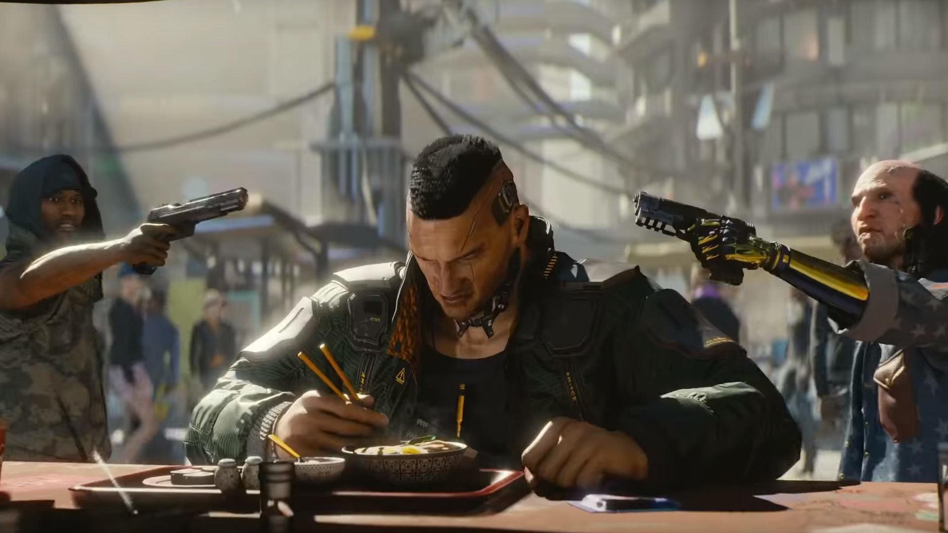 Cyberpunk 2077 laat je je meest agressieve fantasieën uitvoeren