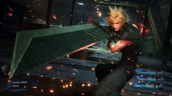Nieuwe Final Fantasy VII Remake gameplay verschenen