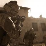Check hier CoD: Modern Warfare gameplay – TDM op Azhir Cave en Domination op Gun Runner