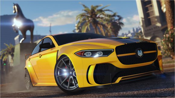 Speel King of the Hill in GTA Online en stap in het nieuwe racemonster, de Ocelot Jugular