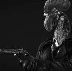 Wees er als de kippen bij met Chicken Police: Paint it Red