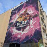 Sony laat zien hoe ze de PS5 en Ratchet & Clank muurschilderingen in Berlijn gedaan hebben
