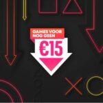 Profiteer van nieuwe aanbiedingen in de 'Games voor nog geen €15,-' sale