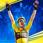Belgische Wout van Aert siert box-art van Tour de France 2021